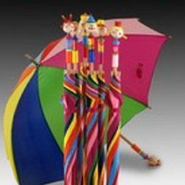 Paraguas infantil colores