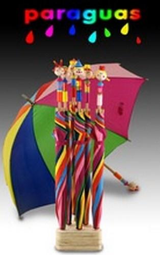 Paraguas infantil colores chambao decoraci n - Chambao decoracion ...