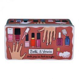 Caja esmalte de uñas