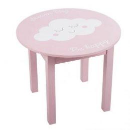 Mesa rosa nube