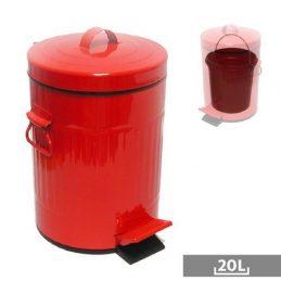 Papelera 20L Roja