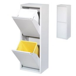 Mueble reciclaje 2 cajones