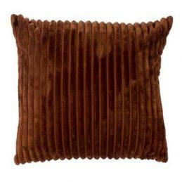 Cojín marrón terciopelo
