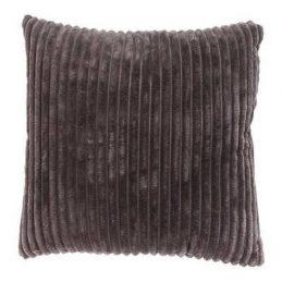 Cojín terciopelo gris