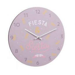 Reloj pared Fiesta&Siesta