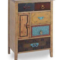 Mesa madera cajones