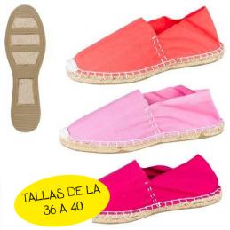 Zapatillas esparto colores