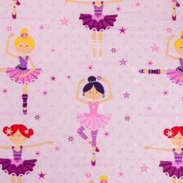 Tejido algodón bailarinas